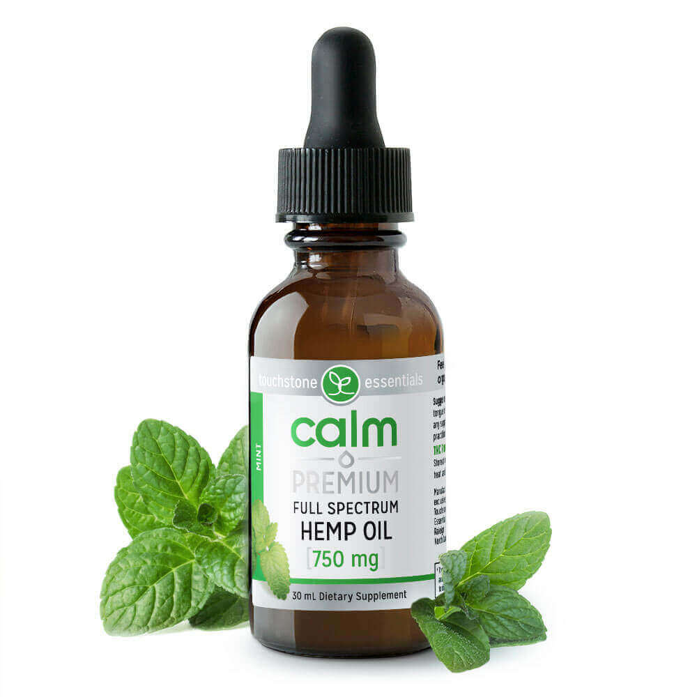 Calm Premium Hemp Oil With CBD Extract